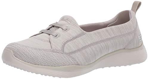 Skechers Microburst 2.0-Best Ever Sneaker para mujer, beige (Marrón topo), 36.5 EU