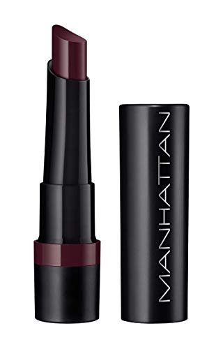 Manhattan All In One Extreme Lippenstift, Lipstick für langanhaltende intensive Farbe & angenehmes Tragegefühl, Farbe Salty 45, 1 x 2,3 g