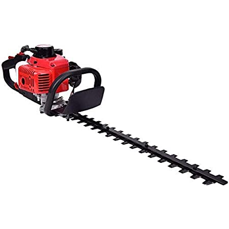 SALEM MASTER 22.5cc 2 Cycle Gas Powered Hedge Trimmer 22-Inch Max Cutting Dual Sided Hedge Clippers TT-HT340