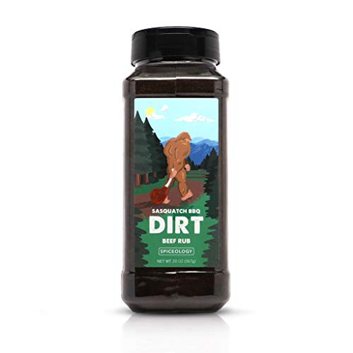 Dirt - Sasquatch BBQ Espresso Chile Beef Rub - 20 ounces