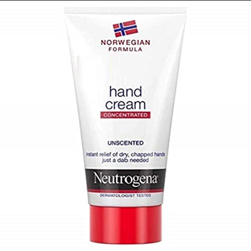 Neutrogena Norwegische Formel konzentrierte Handcreme für sehr trockene Hände, unparfümiert, 50ml