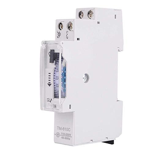 Interruptor de Tiempo, Relé de Temporizador, Interruptor de Control de Sincronización de Carril DIN para Fábricas de Alumbrado Público, Carteles Publicitarios