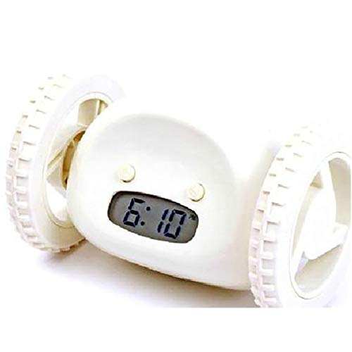 Reloj Despertador Digital Despertador Perezoso Despertador Que Se Puede Escapar Despertador ElectróNico RepeticióN De Ruedas En Movimiento Despertador De Regalo Creativo
