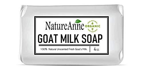 All Natural Handmade Goat Milk Soap Bars - For Eczema, Psoriasis & Dry Sensitive Skin