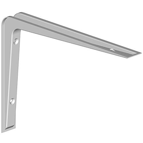 Regalkonsole Alido / Regalträger / 5 Größen / 3 Farben / 2 Stück / Regalwinkel weiß / 155 x 220 mm