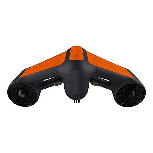 Geneinno S1 Unterwasserscooter Tauchscooter Seascooter schwarz/orange