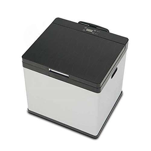 Zhong$chuang Auto Kühlschrank tragbaren Kompressor Kühlschrank Kühlschrank Auto und Haushalt 12V / 24V / 110-220V (Farbe: Silber, Größe 20L)