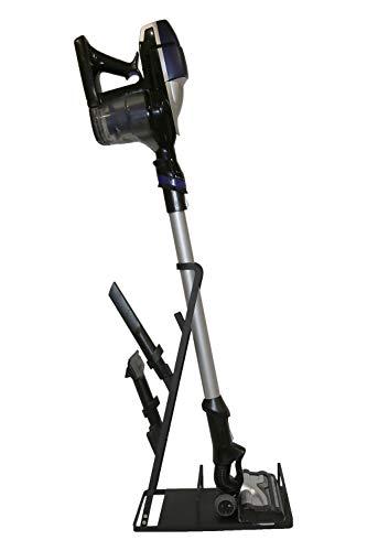 Bison Soporte – Organizador para aspiradora Rowenta Air Force 360 460 con batería, soporte de pie, marco adecuado para muchos otros fabricantes de aspiradoras, color negro
