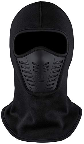 Balaclava Ski Mask - Cold Weather Face Mask with Air Vents for Men & Women - Fleece Hood Snow Gear for Skiing, Snowboarding, Motorcycle Riding & Winter Sports. Ultimate Protection from The Elements.