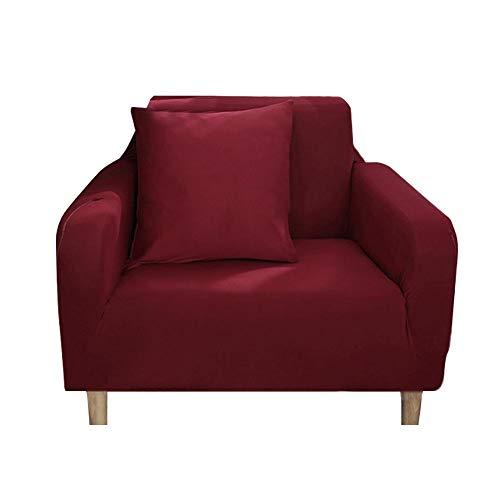 lossomly Funda de sofá elástica suave con espuma antideslizante y base elástica, perfecta elección para niños