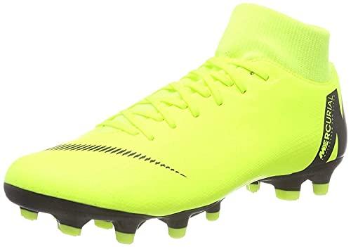 Nike Unisex Superfly 6 Academy Fg/Mg Fußballschuhe, Grün (Volt/Black 701), 42.5 EU