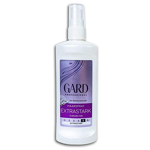 GARD Professional Haarspray Extrastark mit Bambusextrakt, 120ml Pumpspray