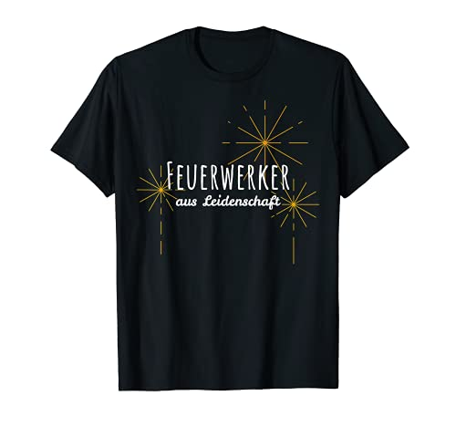 Fuegos artificiales de pasión de Nochevieja Böller. Camiseta