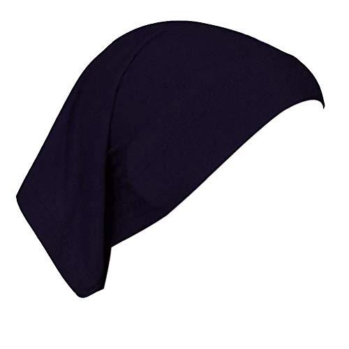 Frauen 20 Farben unter Schal Hijab Shirt Hut Kopftuch Halstuch Haartuch Hijab Baumwolltuch Maxi Size
