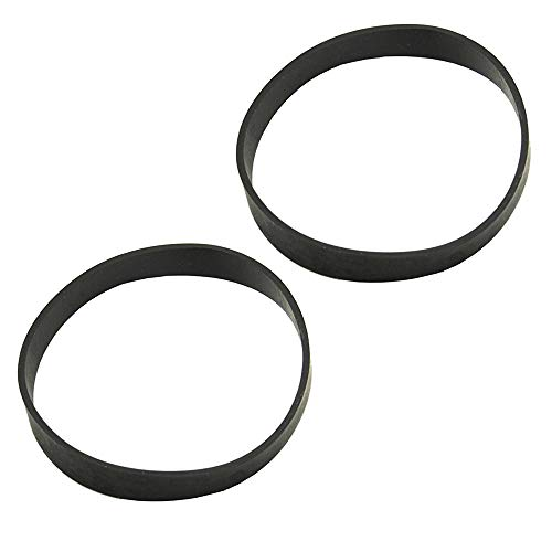HASMX 2-Pack Replacement Vacuum Cleaner Belts #12675000002729 for Black & Decker Air Swivel Vacuum BDASV101, BDASV103, BDASV104, BDASL102 & Ultra, BDASL104, BDASL202, BDASL120 / BDAS120, BDASP103
