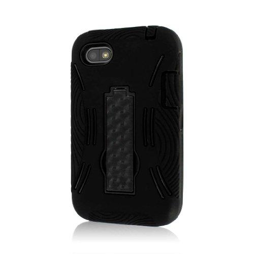 Empire MPERO Impact XL Series Kickstand Hülle Tasche Hülle for BlackBerry Q5 - Schwarz