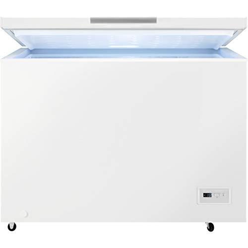 Zanussi ZCAN31FW1 Arcón congelador, Capacidad 308 Litros, 3 cestos, Compresor Inverter, Congelación Rápida, Display LCD, Alarma acústica y visual luminosa, Blanco