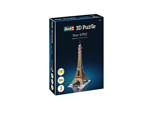 Revell 200 Eifelturm, das Wahrzeichen von Paris Zubehör, Farbig