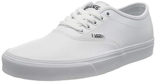 Vans Doheny Decon Suede, Zapatillas Hombre, Tumble Leather White/White, 43 1/3 EU