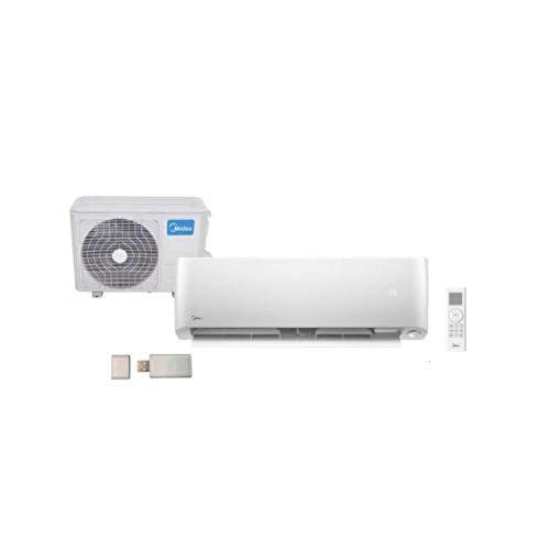 Aire acondicionado, unidad interior split Optimal 35(12) N8 A+++, modelo MSOPBU-12HRFN8-QRE6GW, 73 x 20 x 24 centímetros, color blanco (referencia: MSOPBU-12HRFN8-QRE6GW)