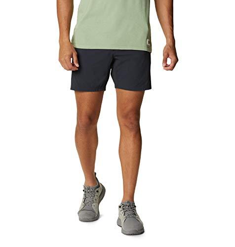 Mountain Hardwear Men's Basin Trek Short, Dark Storm, 32 x Regular