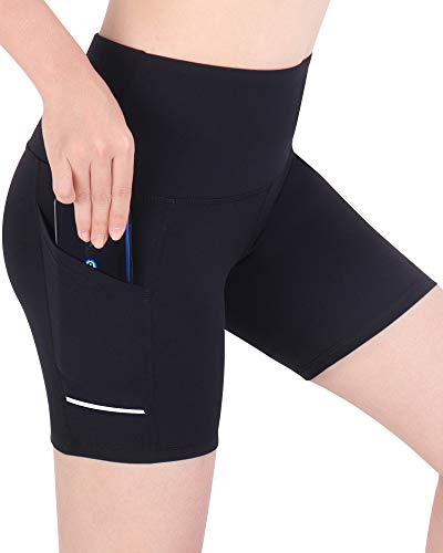 3W GRT Leggings Mujer Fitness, Leggings de Yoga para Mujer, Pantalones de Entrenamiento, Pantalón Corto Deportivo para Mujer Cintura Alta
