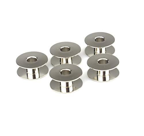 La Canilla ® - Pack 5 Canillas Para Máquinas de Coser Sigma 2000, 2001 y 2000NS Superautomática Bobinas Máquina Coser Sigma (Metálicas)