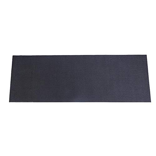 Attrezzatura per il fitness della palestra della stuoia per il tapis roulant Proteggere la bici Proteggere il pavimento Macchina per la macchina da corsa Scarmo assorbente Pad nero 150 cm zhuang94