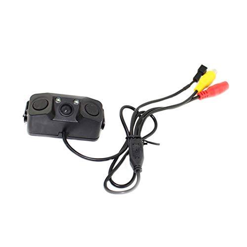RM-WANGLUO-HZ Auto Rückfahrkamera Nachtsicht Hochauflösende Fahrzeug Umkehr Radarsensor Detektor Kamera Rückfahrhilfe...