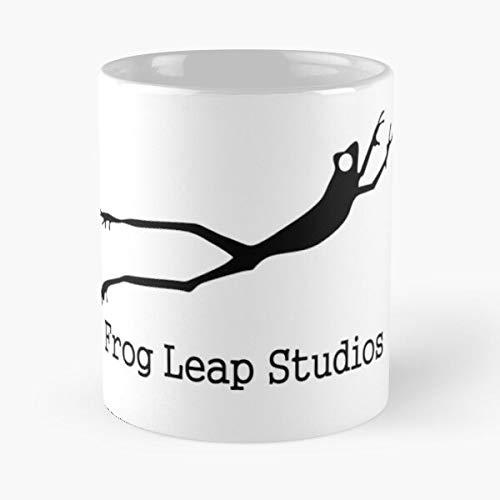 5TheWay Music Metal Leap Studios New Frog Migliore Tazza da caffè Regalo 11 oz