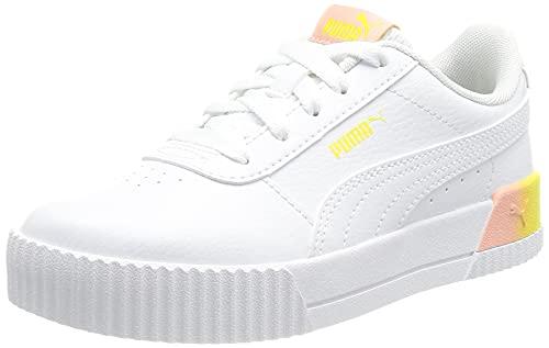 PUMA Carina Summer FADE PS Sneaker, Weiß Weiß, 35 EU