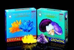 Citrine and Aquamaring Crystal Growing Kit From The Smithsonian Institute by HobbyTron.com