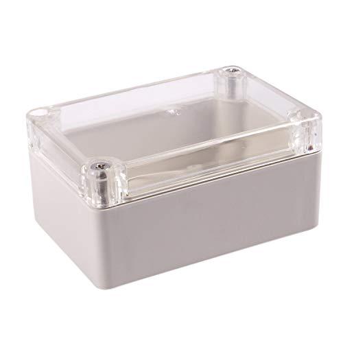 Katigan 1 pieza Caja de proyecto electronico de armario impermeable de plastico 100 x 68 x 50MM