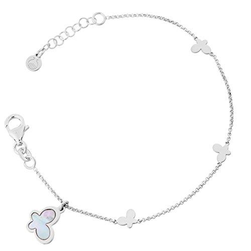 Orphelia Damen-Armband 925 Silber rhodiniert 18.5 cm-ZA-7170