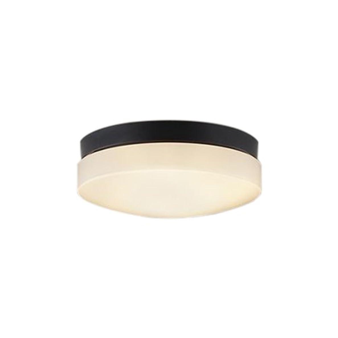 ヘアマージ業界コイズミ照明 防雨?防湿型軒下シーリング LEDランプタイプ FCL30W相当 電球色 黒色 AU46887L