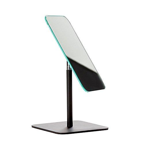 ZONE DENMARK Miroir de Table Design en Métal Noir