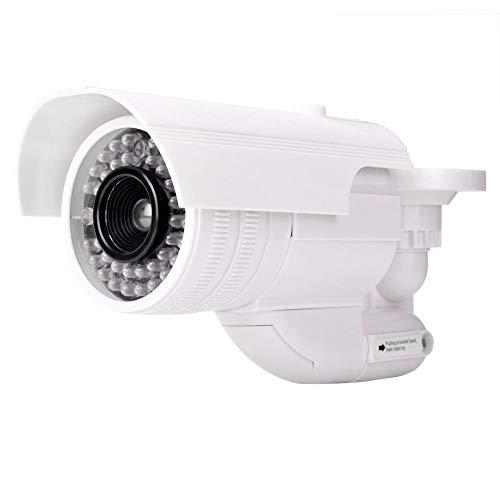Virtuelle gefälschte Sicherheitsüberwachungskamera, LED Kugelform Kreuzungs Speicher Fabrik warnender analoger Monitor