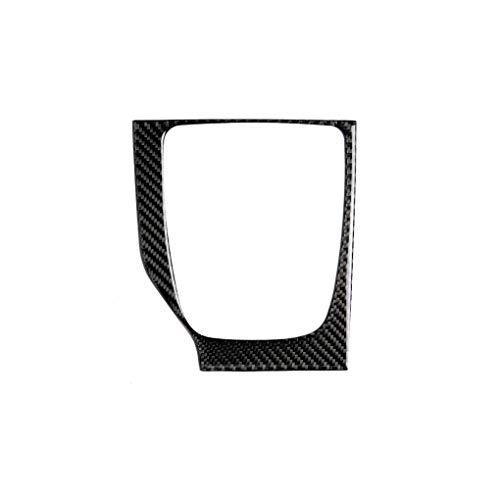 fgyhtyjuu Ersatz für Mazda 3 Axela Verkleidung, Kohlefaser 2017-2018 Kohlefaser Schaltgetriebe Verkleidung LHD