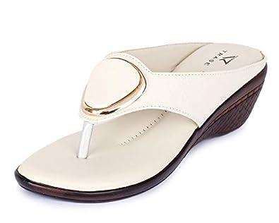 TRASE Comfort Wedges for Women - 1.5 Inch Heel