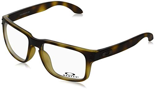 Oakley 0OX8156 Monturas de gafas, Matte Brown Tortoise, 56 para Hombre