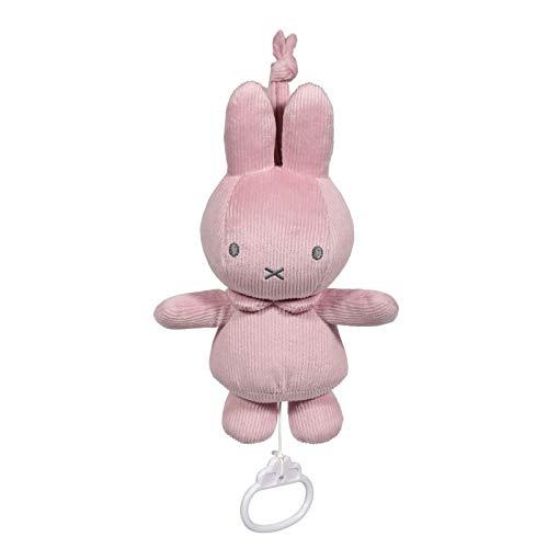Tiamo NIJN608 Miffy Hase Cord Spieluhr rosa
