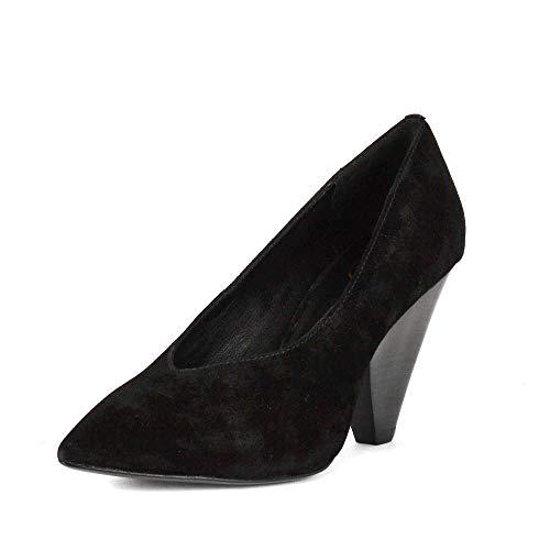 ASH Footwear Deal Schwarze Wildleder Pumps - Damenschuhe 40 Schwarz