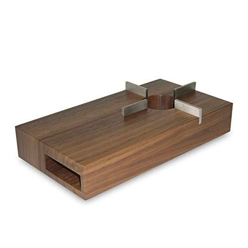 Friesland Holz- Stövchen 13x24cm Chai Nussbaum
