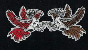 Military Patches for Man & Woman Fighting RED Brown Gamecocks Rooster HAT Vest Patch Sport Souvenir PIN UP Quilt