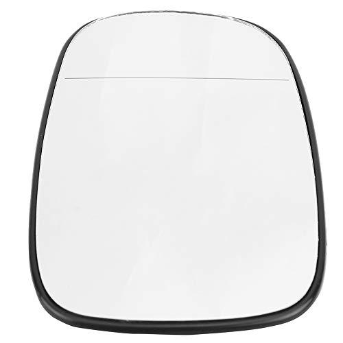 Qillu Auto Specchi di Ricambio per Specchietti, Vetro Specchietto Retrovisore Esterno Lato Sinistro Grandangolo per 93 95 2003-2010