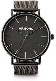 MR.BOHO Reloj Acero Inoxidable Metallic Jet
