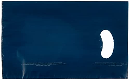 Propac Z-SHF17B Shopper in Pe-Hd Colorate, Blu, 17 x 28 cm, Set di 300