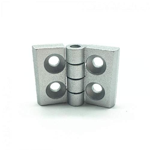 Case Cover 10pcs / 2020 Aluminium Profil Metallscharnier-Zink-Legierung Scharnier Aluminiumprofil-Scharnier