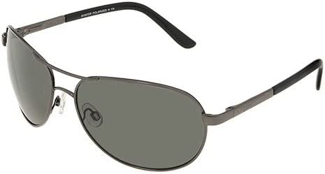 Gunmetal/Grey Polarized Lens