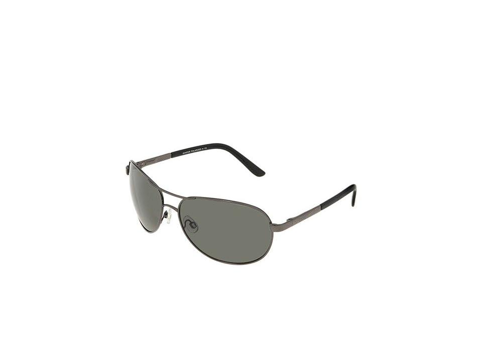 SunCloud Polarized Optics Aviator Polarized (Gunmetal/Grey Polarized Lens) Sport Sunglasses